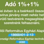 Alapítványi 1% – 2021